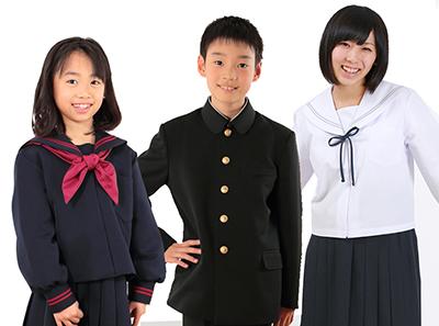地域向け学生服販売