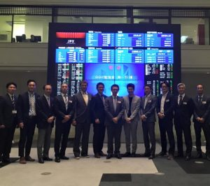 BBR勉強会で東京証券取引所見学