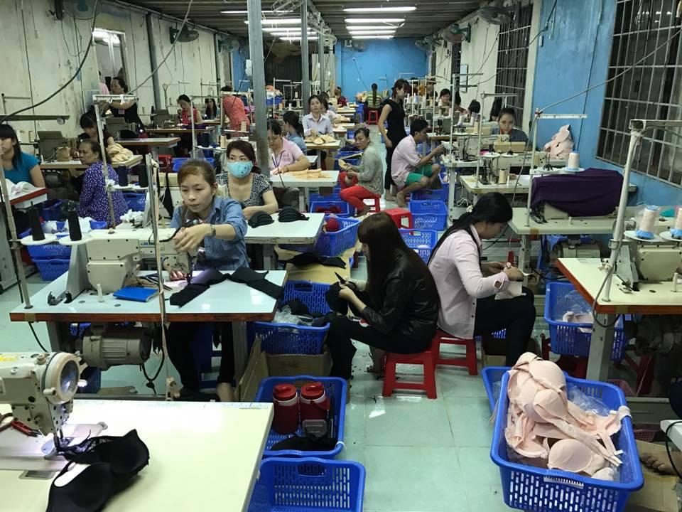 ベトナム下着縫製工場視察