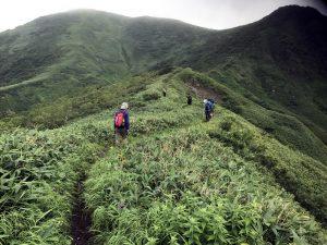 BBR勉強会で、福井県で一番高い山「三ノ峰」登山