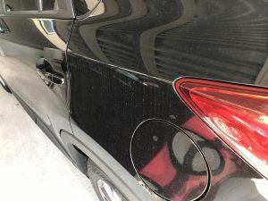 タローワークスのカーコーティング剤「8番」で洗車前