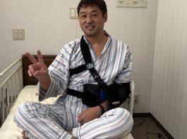 左肩腱板断裂の修復手術