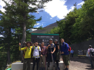 BBR勉強会で富士山登山