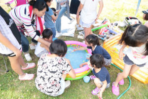三国海浜公園にて社内BBQを開催