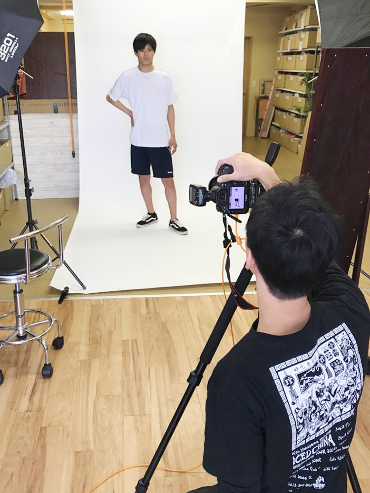 学生モデル撮影