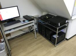 会社のサーバー機器をまとめてすっきり管理できるように環境整備する