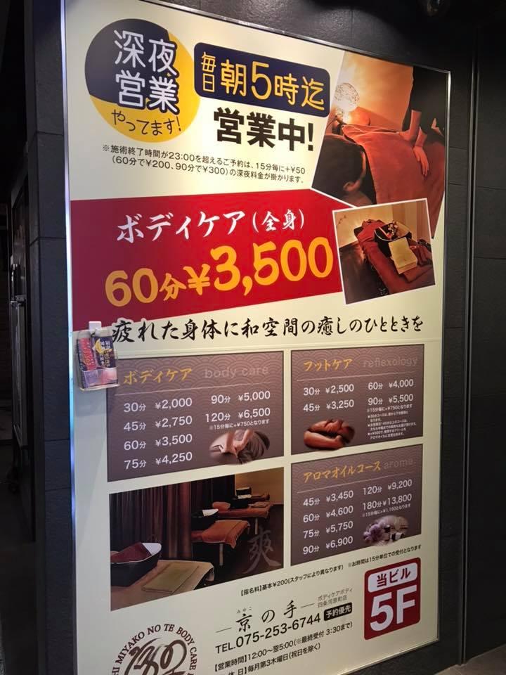 京の手 ボディケア