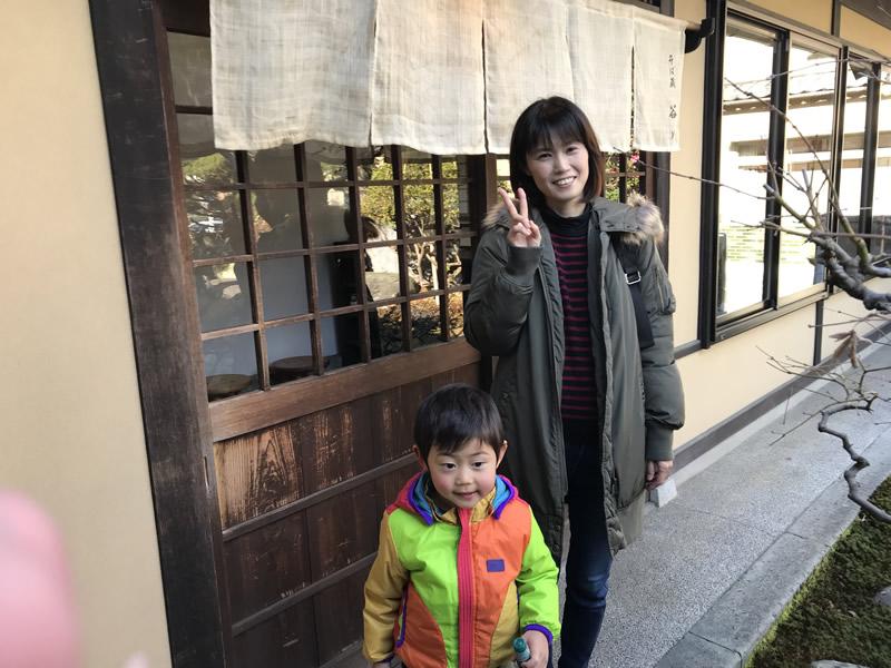 2019.01.13家族で武生のたに川で蕎麦